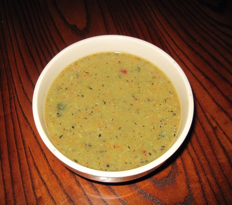 Это тот же суп, но пюре