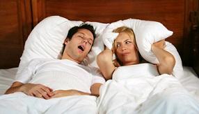 Как уснуть если сильно храпят