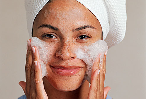 Как очистить сухую кожу