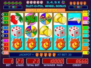 Игровые автоматы Slot o Pol максимальн