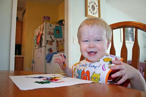 Рецепты приготовления детских красок для рисования пальцами