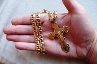 крест золотой мужской фото