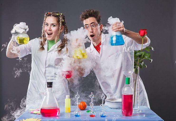 Лаборатория химическая сценарий