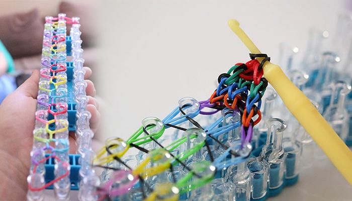 Плетение фенечек из резинок станок