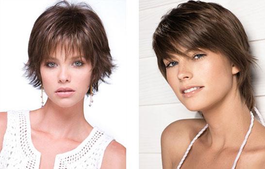Короткая стрижка не требующая укладки для тонких волос