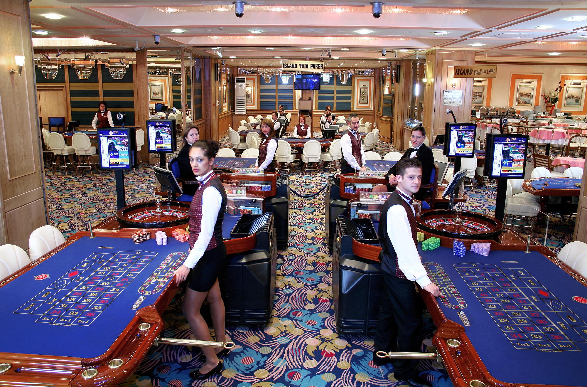 контроль честности в казино кристалл